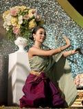танцоры тайские Стоковое Изображение