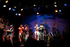 Танцоры танго стоковое изображение