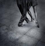Танцоры танго Стоковое фото RF