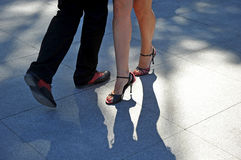 Танцоры танго Стоковое Изображение RF