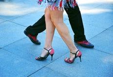 Танцоры танго Стоковые Изображения