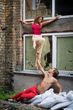 Танцоры улицы Стоковое фото RF