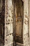 Танцоры Angkor Wat※ Apsaras в Камбодже Стоковая Фотография RF