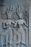танцоры apsara Стоковое Фото