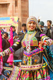 Танцоры Rajasthani Стоковое Изображение