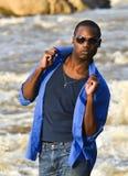 Танцор афроамериканца. Стоковая Фотография RF