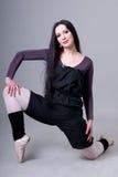 танцор балерины вверх по теплому Стоковые Изображения