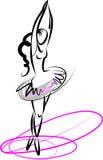 танцор балета бесплатная иллюстрация