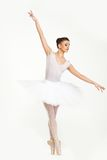 Танцор балерины в балетной пачке Стоковая Фотография