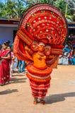 Танцор в Керале стоковое фото rf