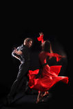 танцор действия Стоковые Фотографии RF