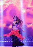 Танцор девушки горячий Стоковое Изображение