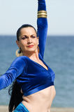 танцор живота пляжа стоковые фото