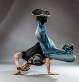 Танцор - замораживание силы Стоковая Фотография RF