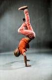 Танцор - замораживание силы Стоковая Фотография