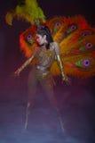 танцор кабара Стоковая Фотография