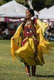 Танцор коренного американца Стоковая Фотография