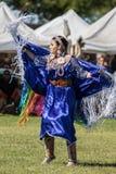 Танцор коренного американца Стоковые Изображения