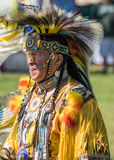 Танцор коренного американца Стоковое Фото