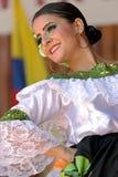 Танцор от Колумбии в традиционном костюме 2 стоковые фотографии rf