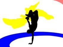 танцор пролома Стоковые Фото