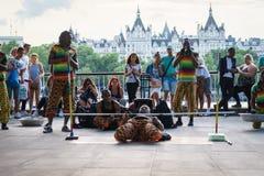 Танцор улицы внешний стоковые изображения