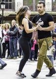 Танцор улицы стоковая фотография rf