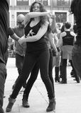 Танцор улицы стоковое изображение