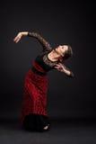 Танцор фламенко Стоковая Фотография