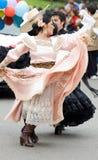 танцор эквадор Стоковая Фотография