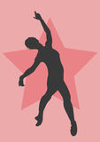 танцор иллюстрация штока