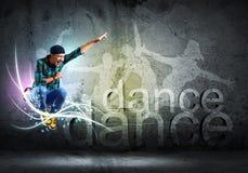 танцор Стоковое Изображение
