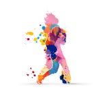 танцор иллюстрация вектора