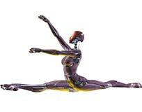 танцор android иллюстрация вектора