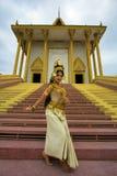 Танцор Apsara Стоковая Фотография RF