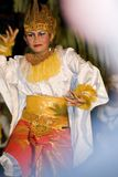 танцор balinese традиционный Стоковая Фотография