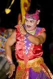 танцор balinese традиционный Стоковое Изображение