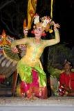 танцор balinese традиционный Стоковые Изображения