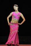 танцор Dai китайца этнический Стоковое фото RF