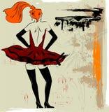 танцор de корпуса балета Стоковое Изображение RF