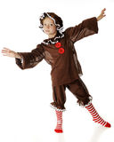 Танцор Gingerbread Стоковое Фото
