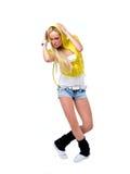 Танцор Hiphop Стоковая Фотография RF
