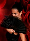 Танцор Latino Стоковые Фото