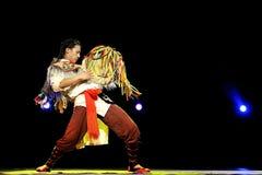 Танцор Qiang китайца этнический Стоковые Изображения