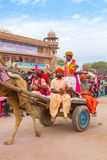 Танцор Rajasthani Стоковые Фото