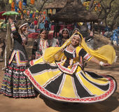 танцует Индия соплеменная стоковое изображение rf