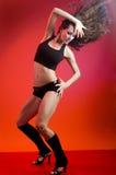 танцует самомоднейшее Стоковые Фото