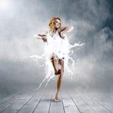 танцулька балерины стоковые изображения