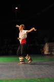 танцулька Болгарии традиционная Стоковое Фото