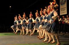 танцулька Болгарии традиционная Стоковое Изображение